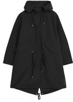 Arket Oversized Fishtail Parka