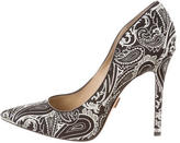 Michael Kors Brocade Pointed-Toe Pumps