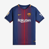 Nike 2017/18 FC Barcelona Stadium Home Big Kids' Soccer Jersey