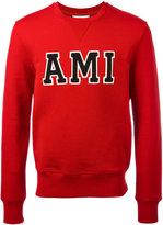 Ami Alexandre Mattiussi Ami patch sweatshirt - men - Cotton - S