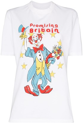 Martine Rose Clown print T-shirt