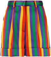Rossella Jardini high waisted striped shorts