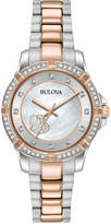 Bulova Women's Two-Tone Stainless Steel Bracelet Watch 30mm 98L233