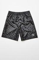 Umbro Checkered Black Active Shorts