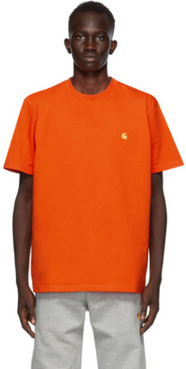 Carhartt Work In Progress Orange Chase T-Shirt