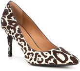 Calvin Klein Gayle Leopard Calf Hair Pumps