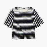 J.Crew Ruffle-sleeve top