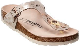 Birkenstock Gizeh Vintage Metallic Leather Sandal