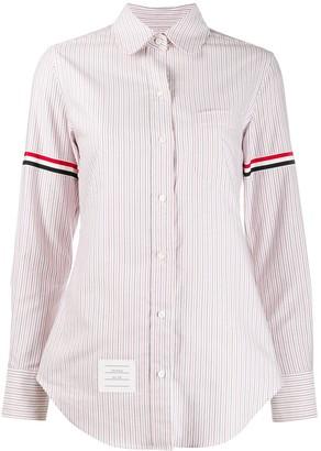 Thom Browne RWB-stripe shirt