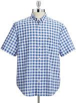 Lacoste Short Sleeve Gingham Sport Shirt