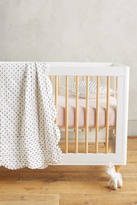 Anthropologie Swiss Dot Toddler Quilt
