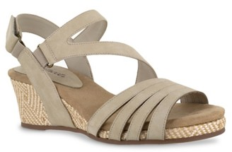 Easy Street Shoes Lee Wedge Sandal
