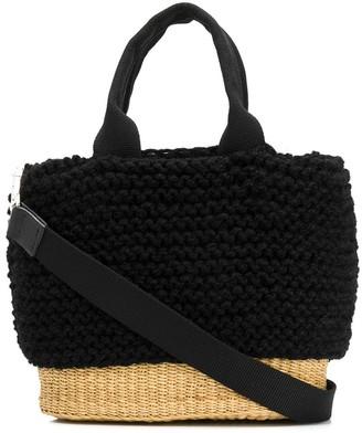 Muun Bonnie woven bucket bag