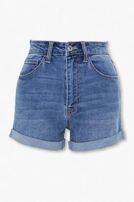 Forever 21 Curvy Denim Shorts
