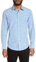 Zachary Prell Men's Nees Gingham Sport Shirt