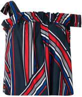Tommy Hilfiger Tommy x Gigi striped bardot top