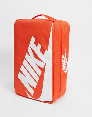 Nike shoebox bag in orange