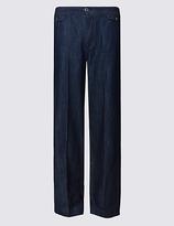 Per Una High Waist Wide Leg Jeans