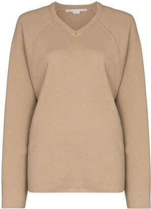 Stella McCartney V-neck fine-knit jumper