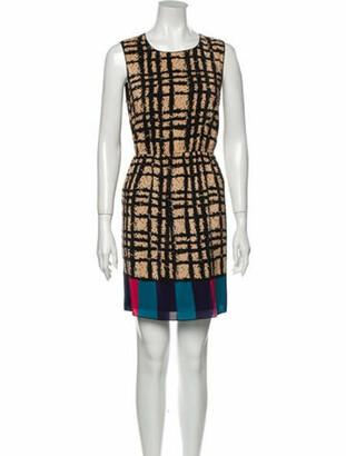 Anna Sui Silk Mini Dress w/ Tags Black
