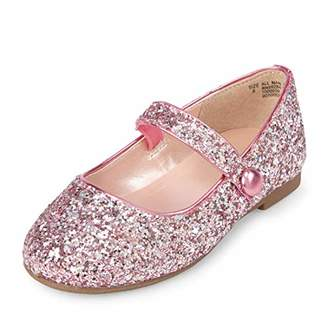 Children's Place The Girls' Strap Ballet Flat
