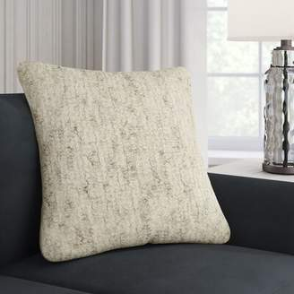 Corrigan Studio Marcus Throw Pillow Cover Color: Neutral\Gray
