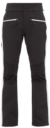 Bogner Fire & Ice Amber Side-stripe Ski Trousers - Black