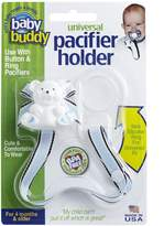 Baby Buddy Universal Pacifier Holder, Sky Brown Hot Trax by