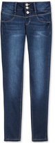 Vanilla Star Snap-Front Skinny Jeans, Big Girls (7-16)