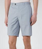 Reiss Reiss Wicker - Tailored Chino Shorts In Blue, Mens