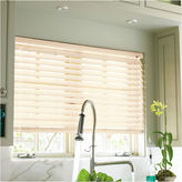 JCP HOME JCPenney HomeTM Custom 2 Smart Faux-Wood Horizontal Blinds