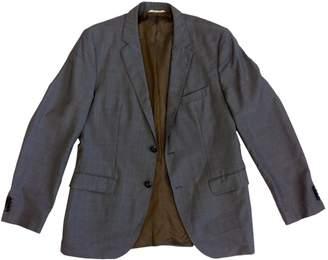 BOSS Grey Wool Jackets