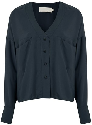LE SOLEIL D'ETE Pietra V-neck shirt