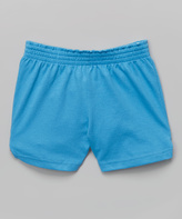 Soffe Columbia Blue Authentic Shorts - Girls