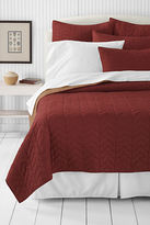 Lands' End Two Rivers Reversible Quilt