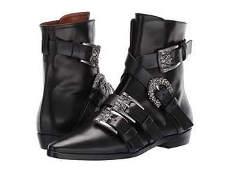 Etro Buckle Boot (Black) Women's Boots