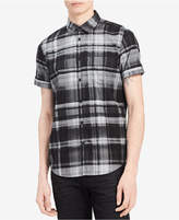 Calvin Klein Jeans Men's Gradient Plaid Shirt