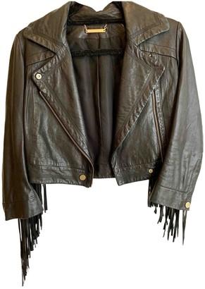 Diane von Furstenberg Black Leather Jackets