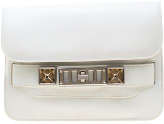 Proenza Schouler White Leather PS11 Mini Classic Crossbody Bag