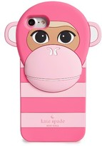 Kate Spade Monkey Silicone Iphone 7 Case - Pink