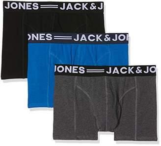 Jack and Jones NOS Men's Jacbasic Trunks 3 Pack Noos Boxer Shorts