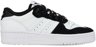 adidas Rivalry Low Leather Lace-up Sneakers