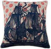 Thomas Paul Ship 22x22 Pillow - Navy