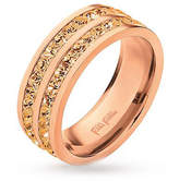 Folli Follie Classy Collection Ring Rose Champagne 56