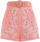 zimmermann-heathers-bandana-short