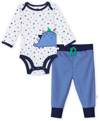 Just Born Baby Boy Lil' Dino 2-Piece Bodysuit & Pant Set
