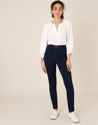 Monsoon Nadine Short-Length Skinny Jeans Blue