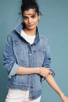 Pilcro and the Letterpress Pilcro Amore Embroidered Denim Jacket