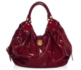 Louis Vuitton pristine (PR Cerise Patent Leather XL Surya Bag