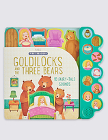 Marks and Spencer Goldilocks & the Three Bears Sound Book